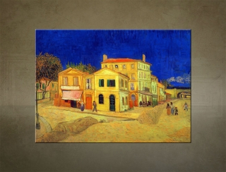 Obraz na plátne THE YELLOW HOUSE – Vincent van Gogh - AHD19492