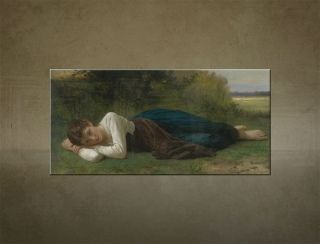Obraz na plátne LE REPOS  - William Bouguereau - AHD20624