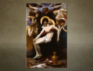 Obraz na plátne PIETA - William Bouguereau - AHD20626