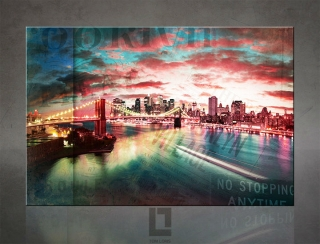 Brooklyn bridge - NEW YORK / ART HOME DECOR - Tom Loris - AHD21200
